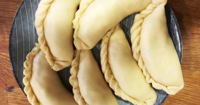 Empanadillas de berenjena y mozzarella