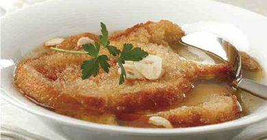 Sopa de ajo a la madrileña copia
