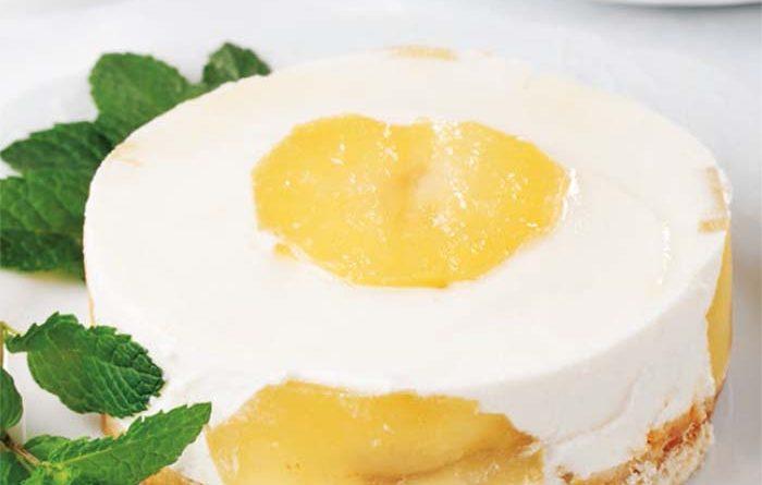 Tarta de sidra y manzana