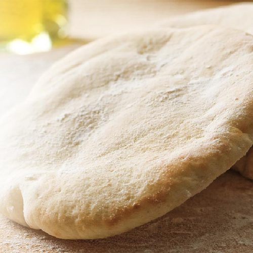 Pan de pita sin gluten