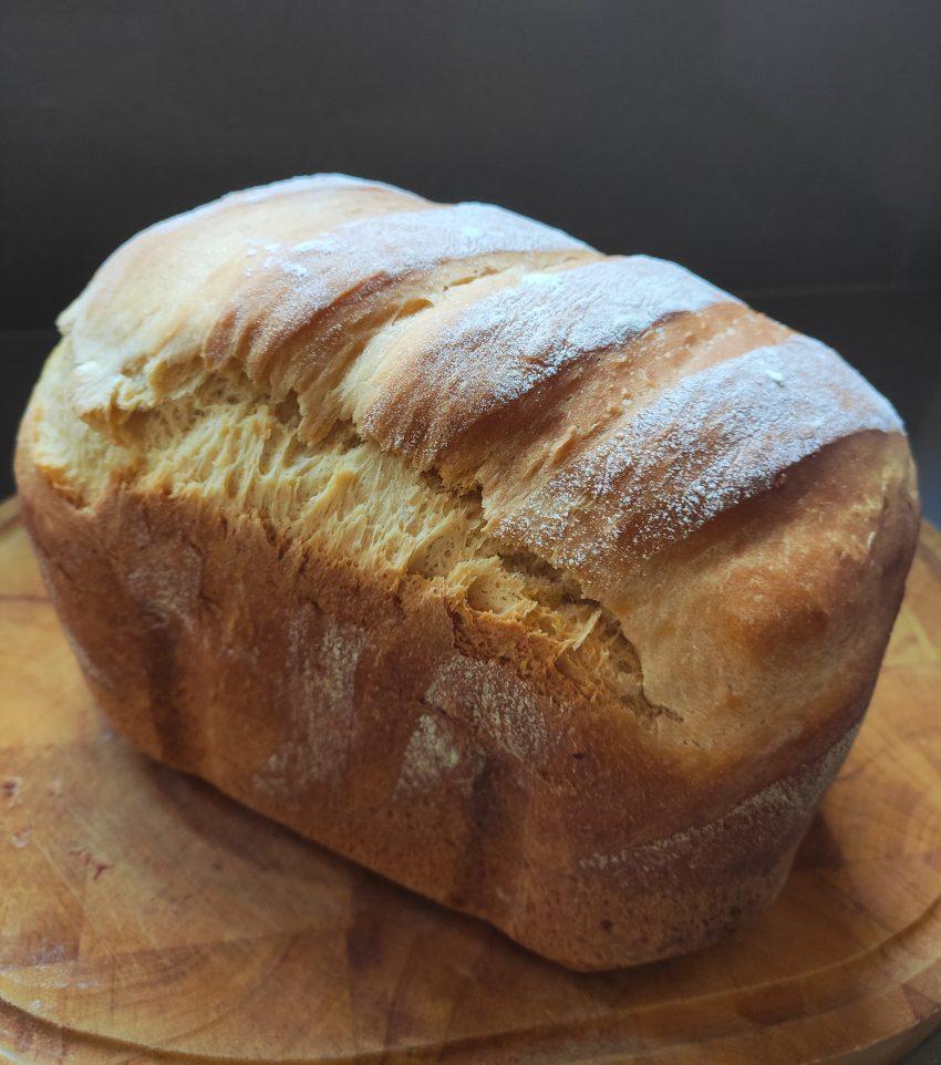 Pan de molde con leche