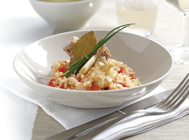 Receta arroz con vino